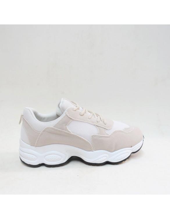 Zapatillas plataforma blanca