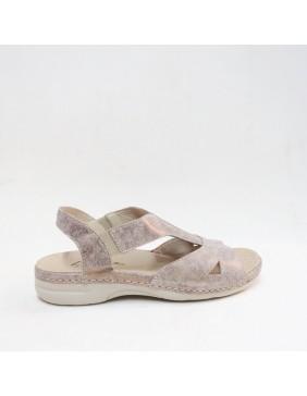 Sandalia confort bronce