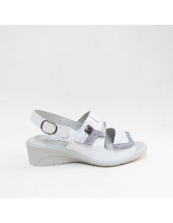Sandalia confort dos velcros